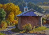 <h5>Fall Chapel 12x16 Oil on Linen</h5>