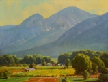 <h5>Taos Valley September Morning 30x40 Oil on Linen</h5>
