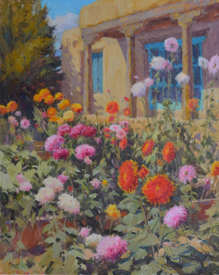 Summer Portal 30×24 oil on linen