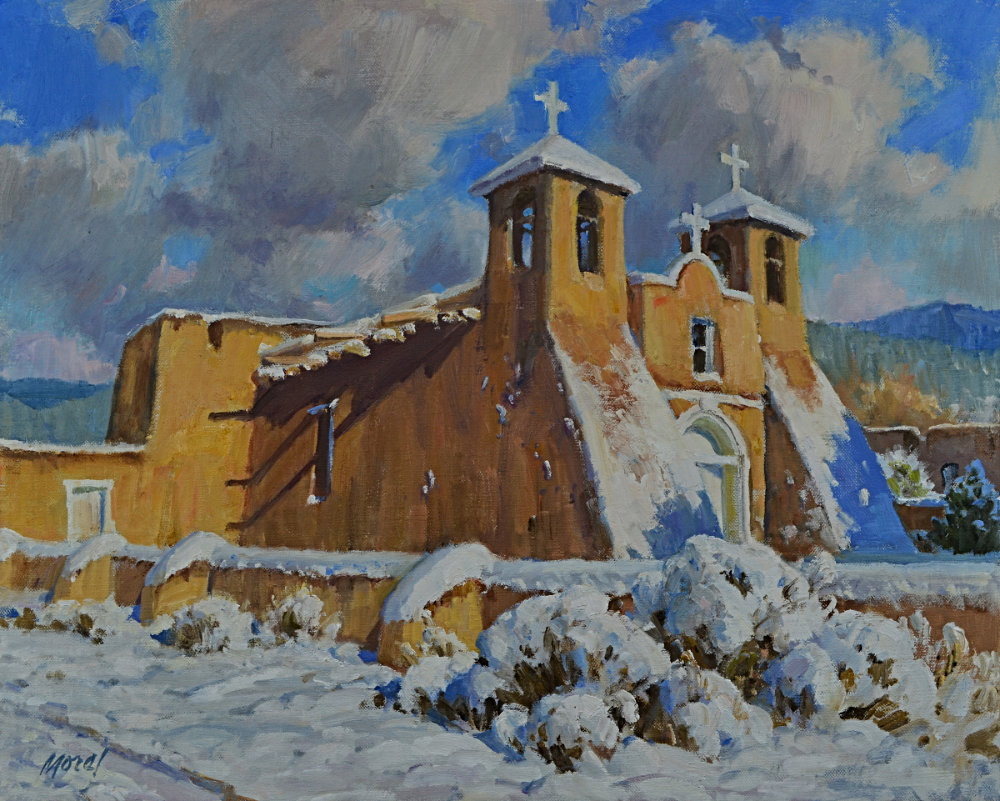 St Francis in Snow